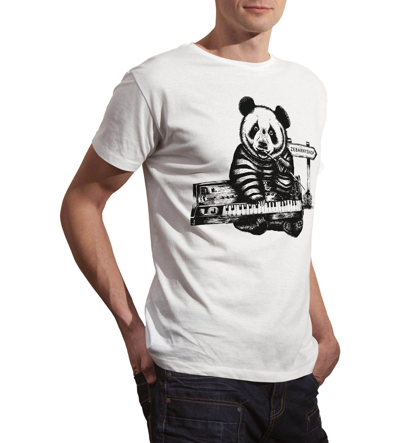 TEE-SHIRT PANDIANO HOMME
