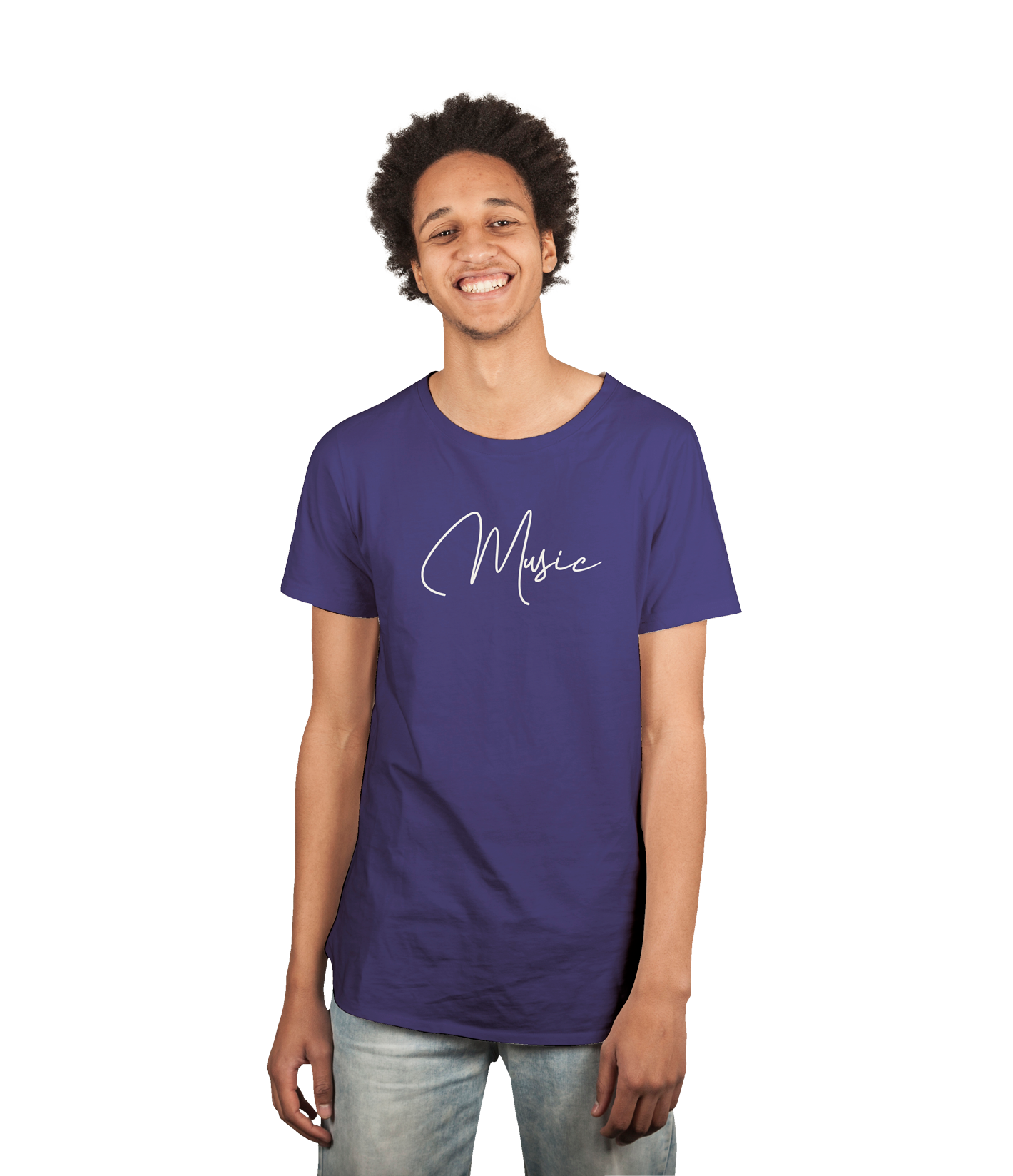 TEE-SHIRT MUSIC HOMME