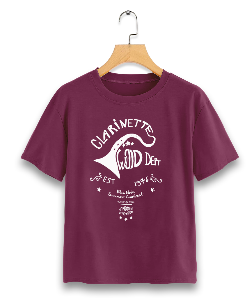 TEE-SHIRT CLARINETTE WOOD DEPT. ENFANT