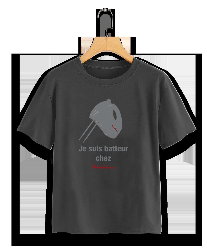 TEE-SHIRT BATTEUR CHEZ MOULINEX