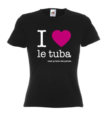 I LOVE TUBA-PALMES