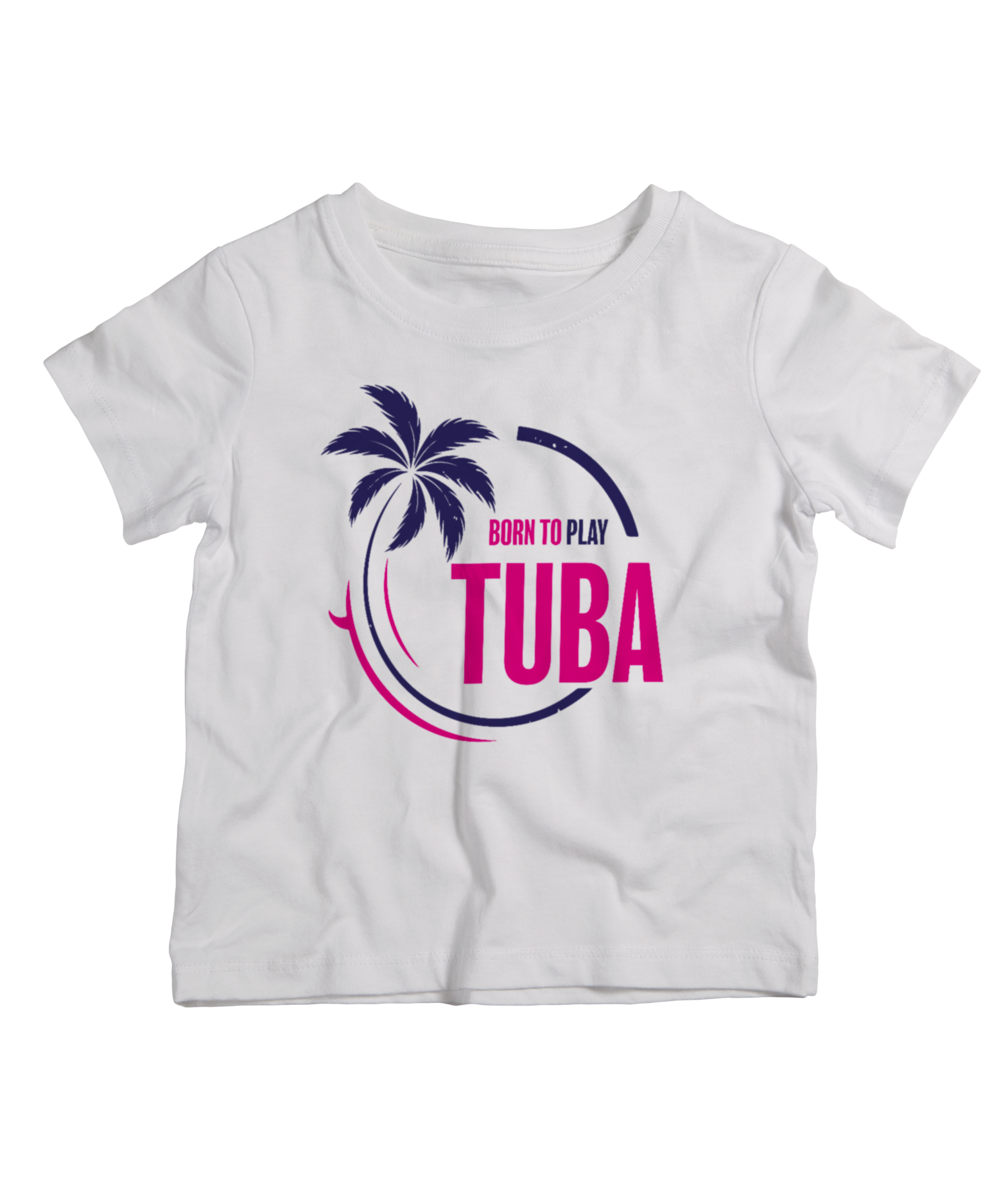 TEE-SHIRT BORN TO PLAY TUBA
