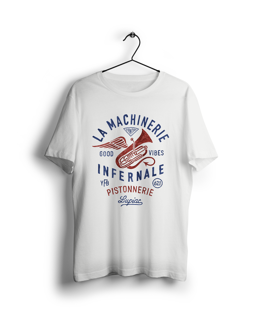 TEE-SHIRT MADE IN FRANCE MACHINERIE INFERNALE