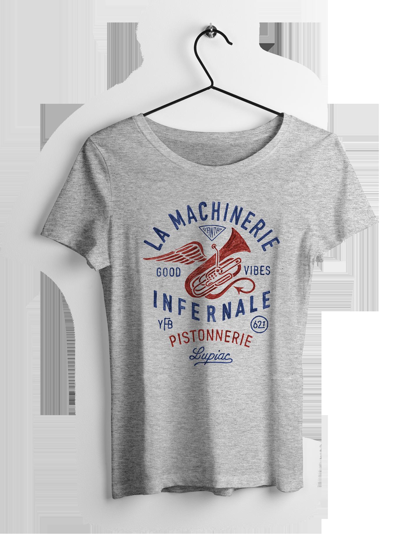 TEE-SHIRT MACHINERIE INFERNALE FEMME