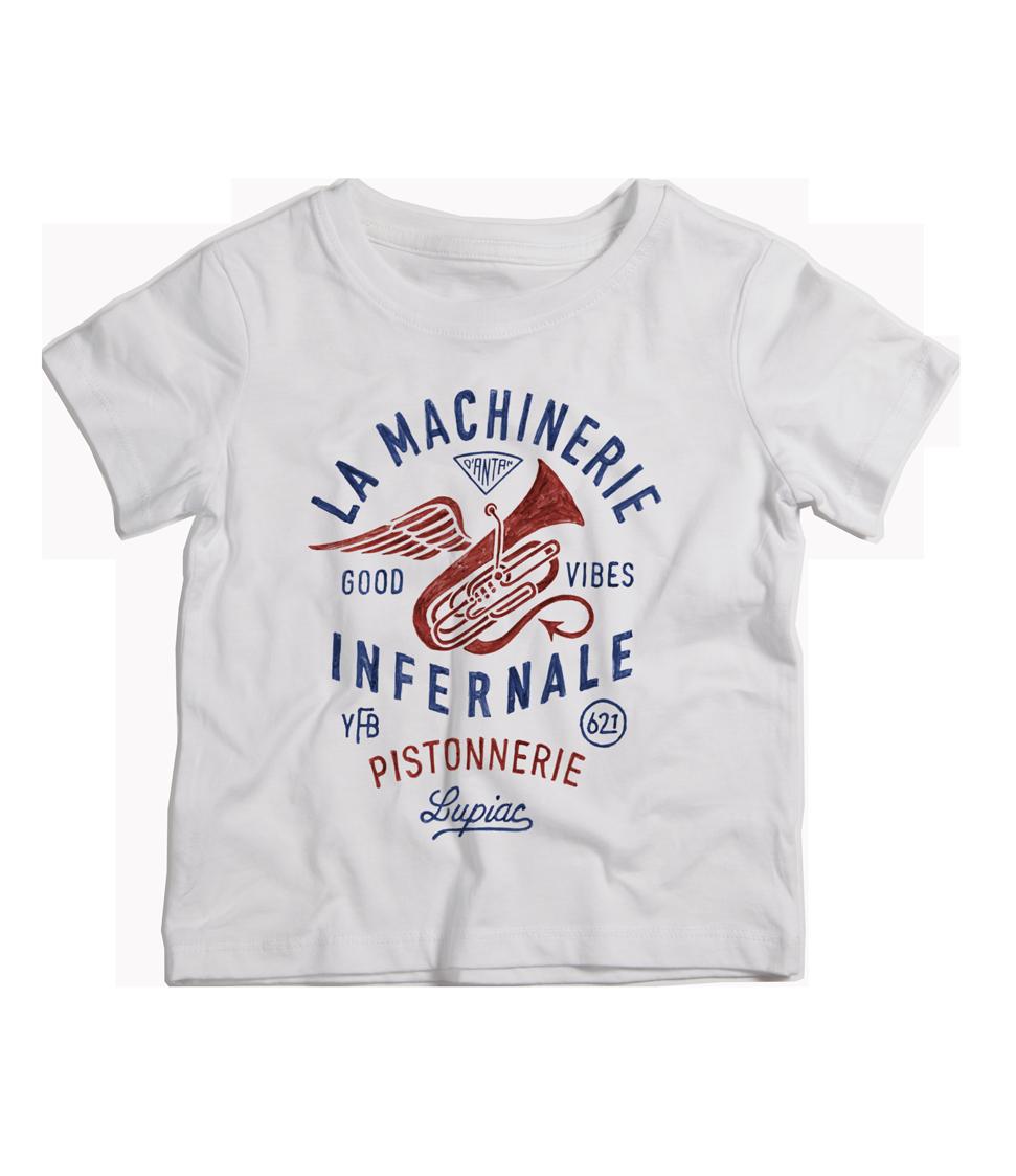 TEE-SHIRT MACHINERIE INFERNALE ENFANT