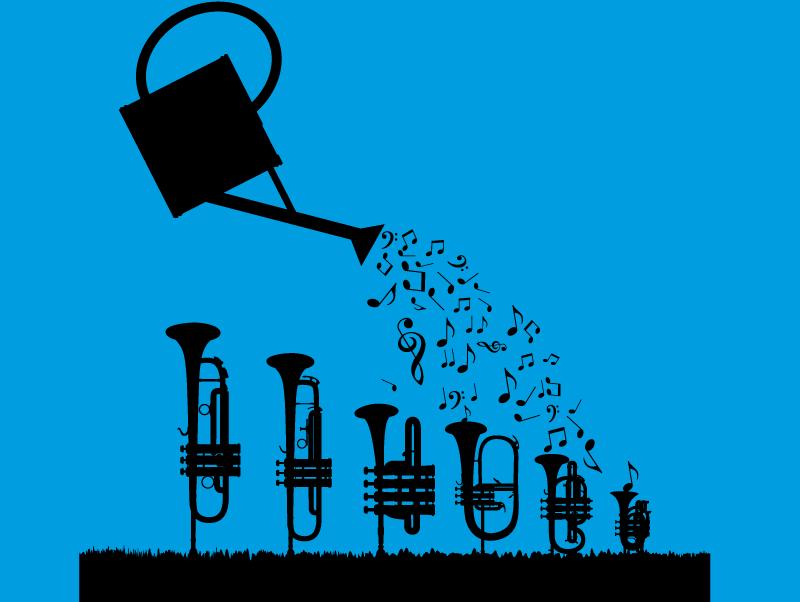 trompette arrosée