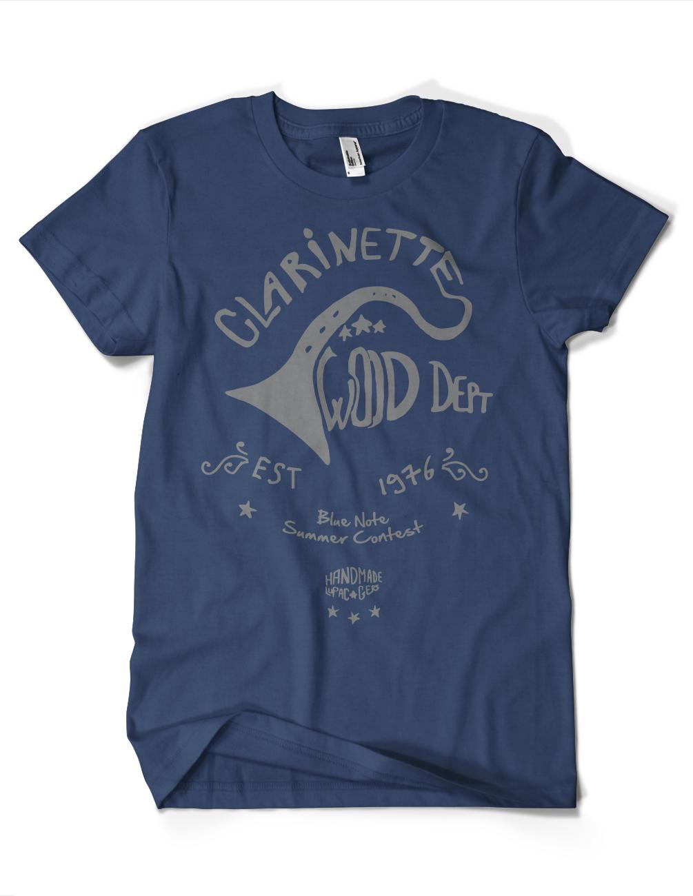 Clarinette-wood-navy