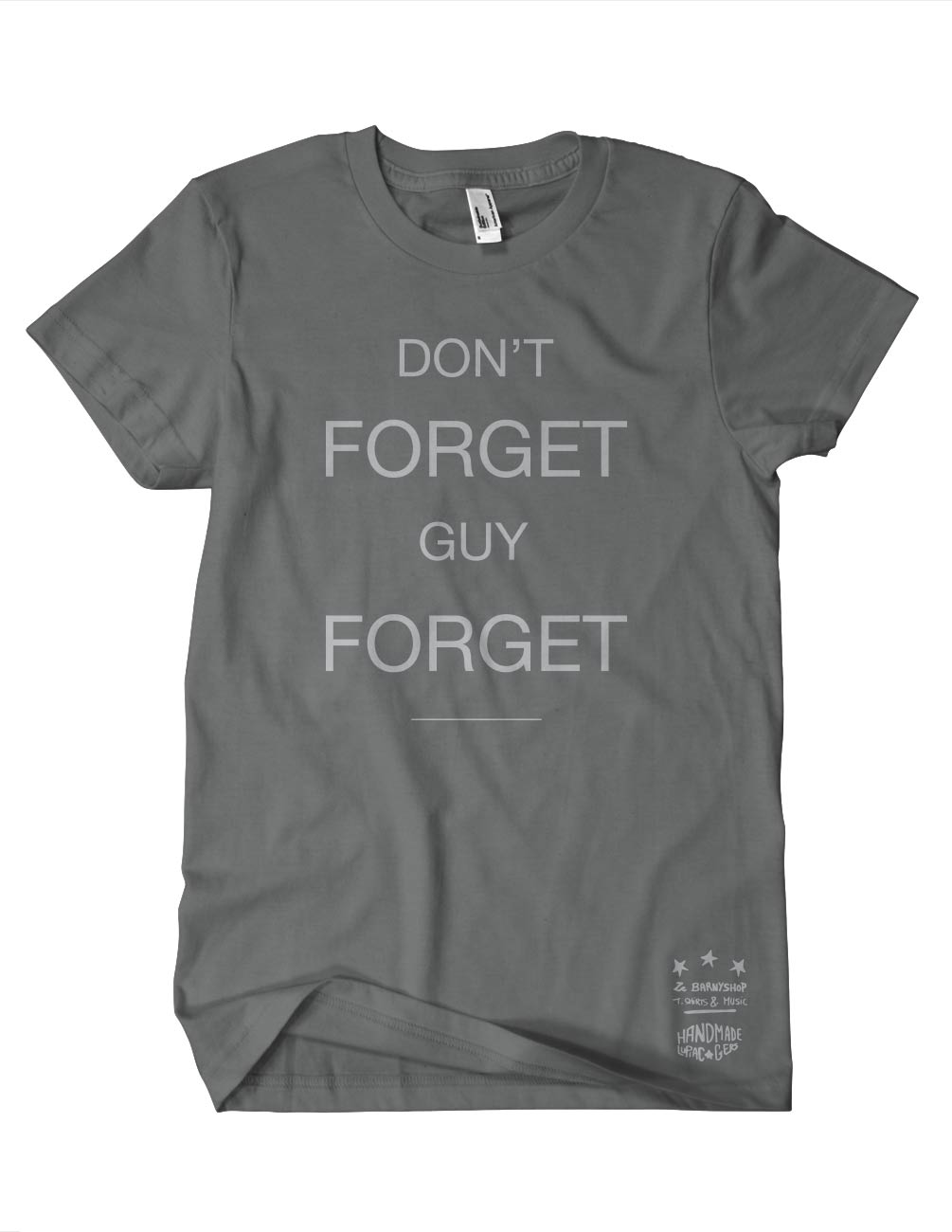 DON\'T FORGET