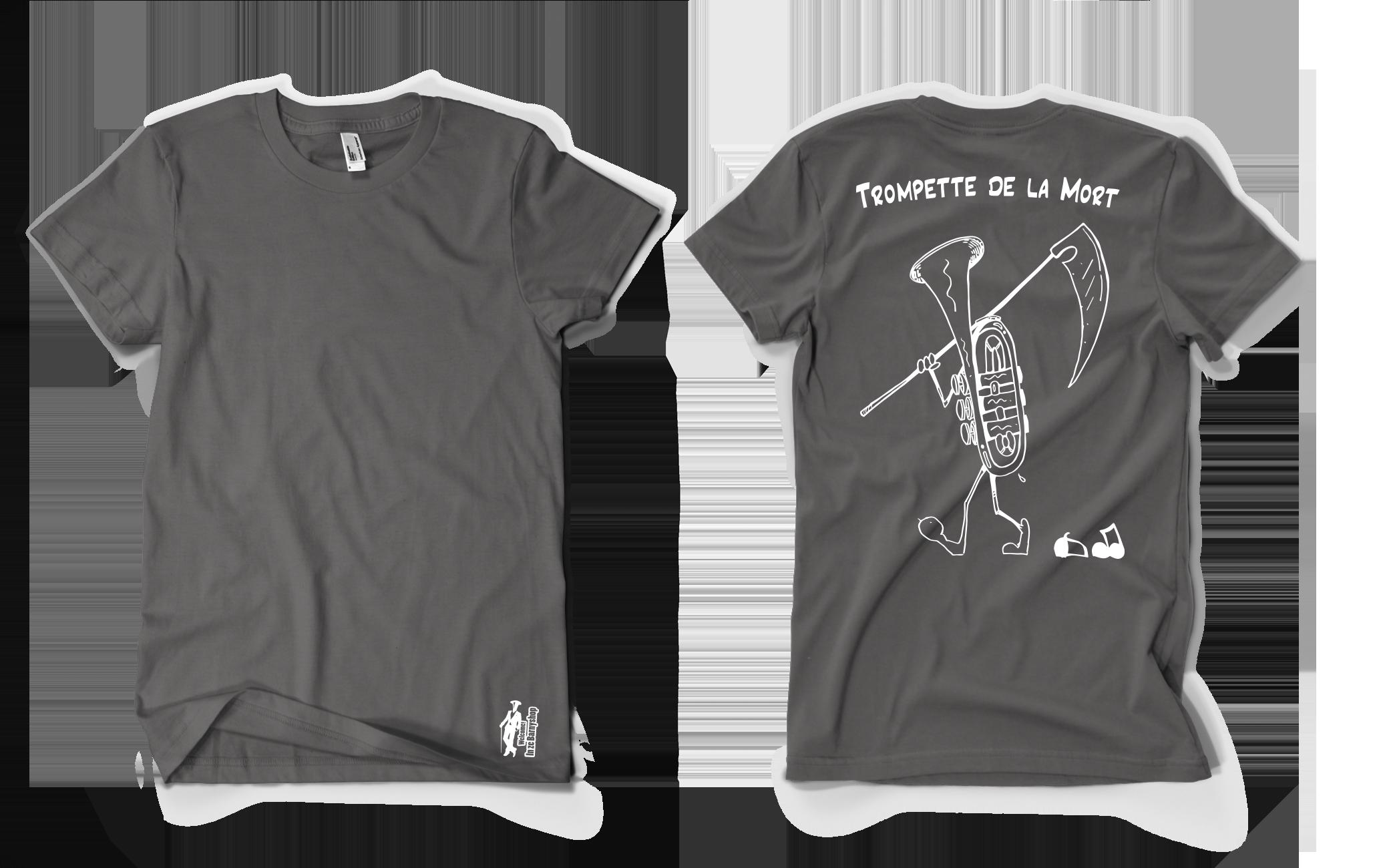 TEE SHIRT TROMPETTE DE LA MORT