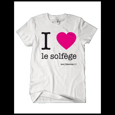 I LOVE LE SOLFÈGE NON J'DÉCONNE