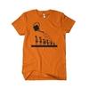 Trompette-arrosée-orange-et-noir
