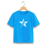 T-Shirt-bleu-turquoise
