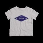Kids-T-shirt-gris-chiné-batterie