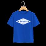T-Shirt-bleu-roi-pichotte