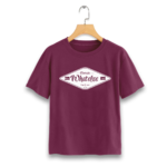 T-Shirt-bordeaux