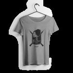 Tshirt-cintre-fille-gris