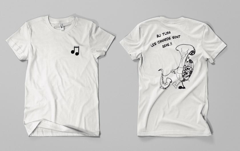 Au-tuba-les-canards-blanc