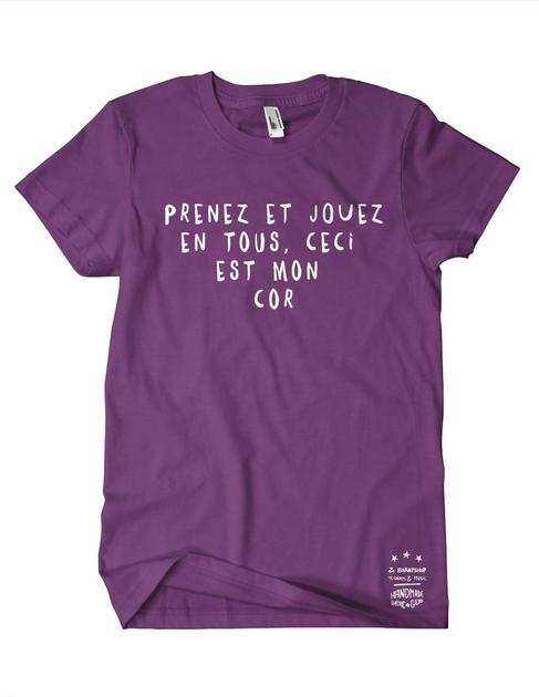 Prenez-mon-cor-violet