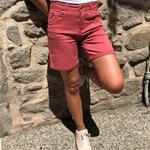 bermuda femme rose avec poches