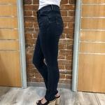 slim en jean taille mi haute