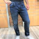 jean homme straight bleu delavé