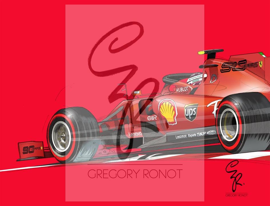 Série Formule 1, Charles Leclerc (Auto seule)