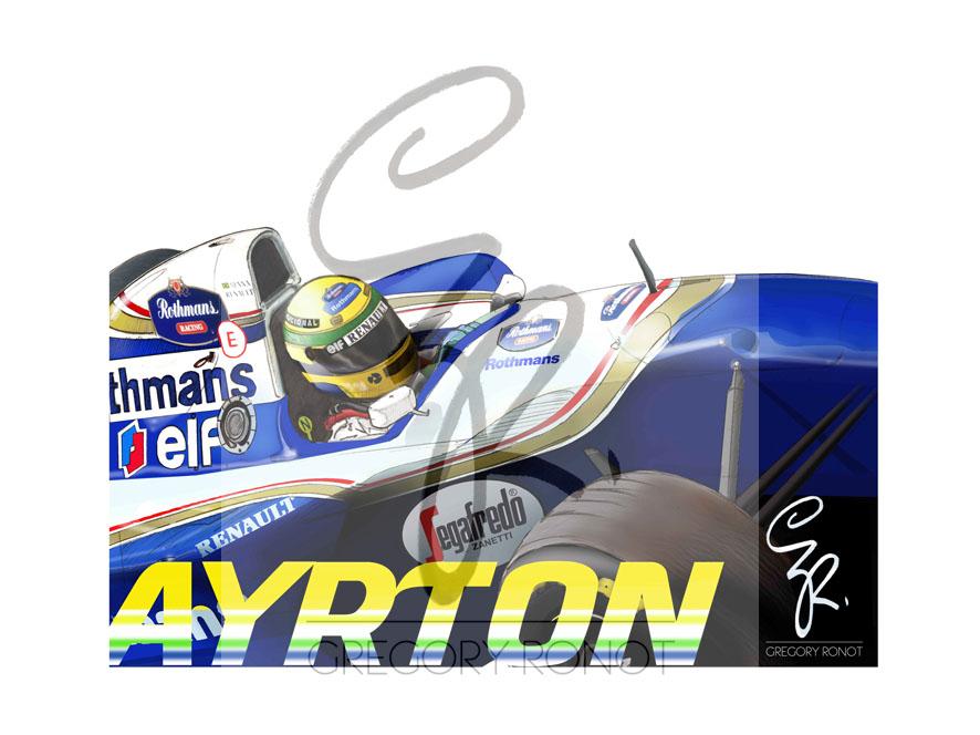 Série Formule 1, Ayrton Senna (1994)