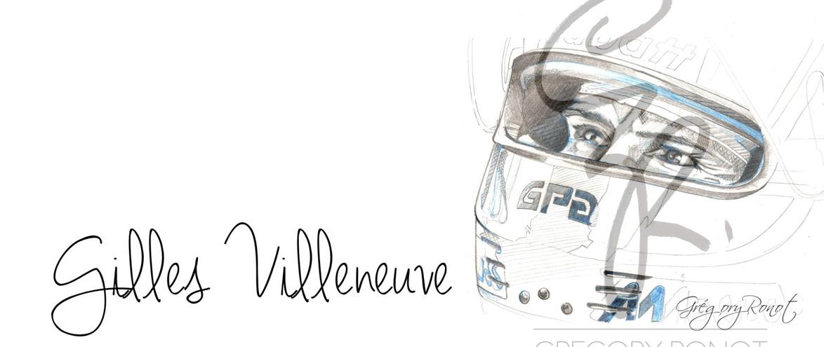 Gilles Villeneuve fili