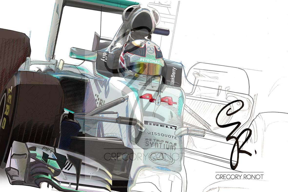 Série Formule 1, Lewis Hamilton