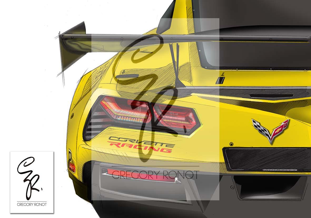 Chevrolet Corvette, C7R