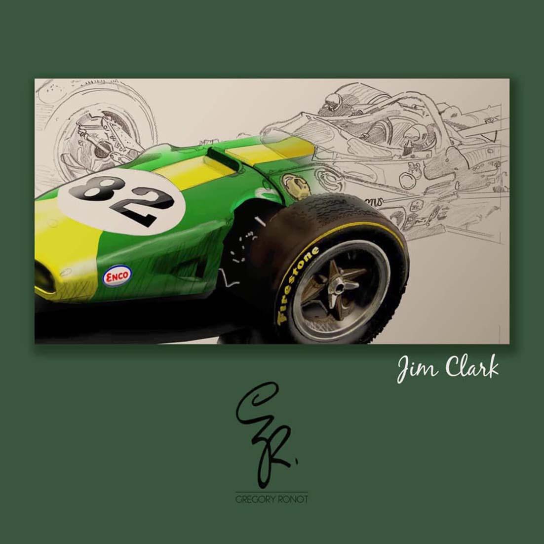Poster Jim Clark