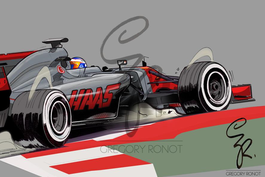 Romain Grosjean, HaasF1Team