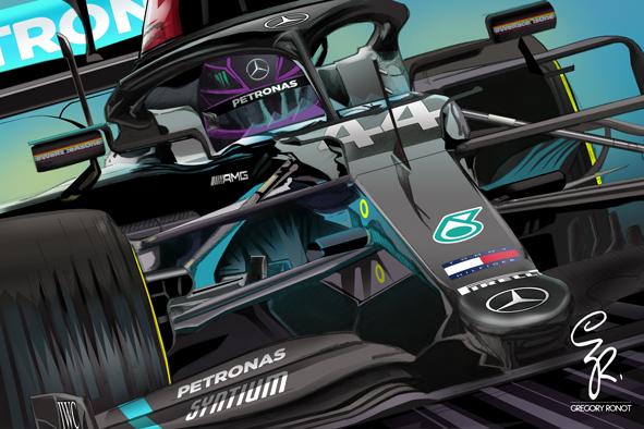 Lewis Hamilton, Mercedes AMG 2020