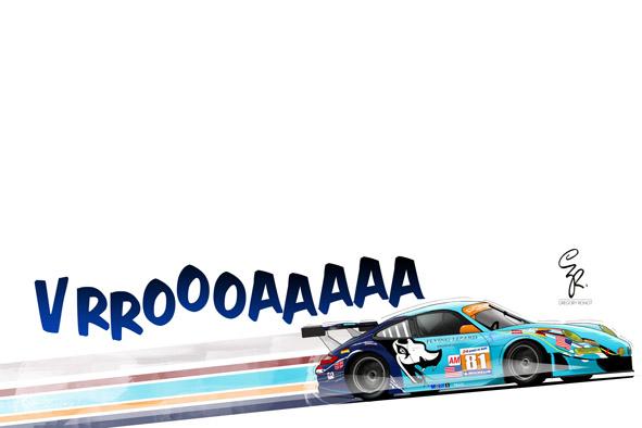 Porsche Le Mans, Flying Lizard