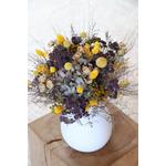 bouquet de fleurs séchées champêtre