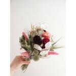 bouquet pivoines séchées