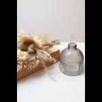 décoration vase et fleurs séchées