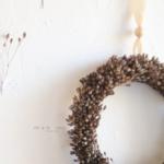 couronne de fleurs naturelles - chipie choc création