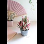 cadeau fleurs séchées - chipie choc création