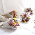 mini bouquet fleurs séchées chipie choc création