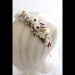 serre-tête fleurs séchées chipie choc création