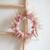 couronne de fleurs séchées Emie - chipie choc création