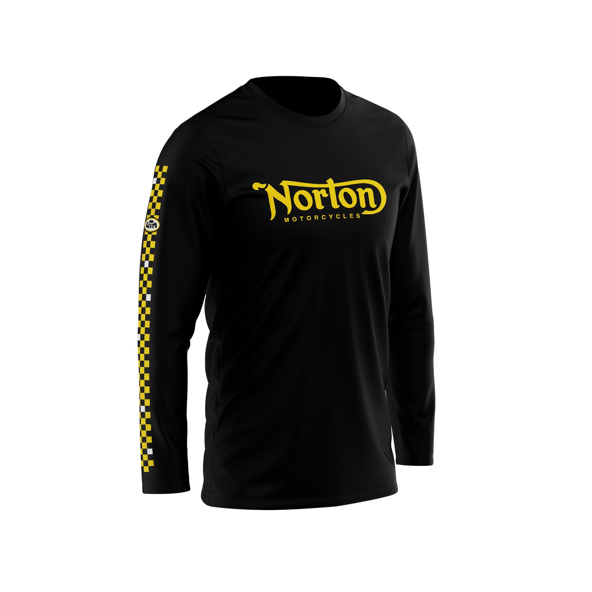 TSLS NORTON Noir - Jaune