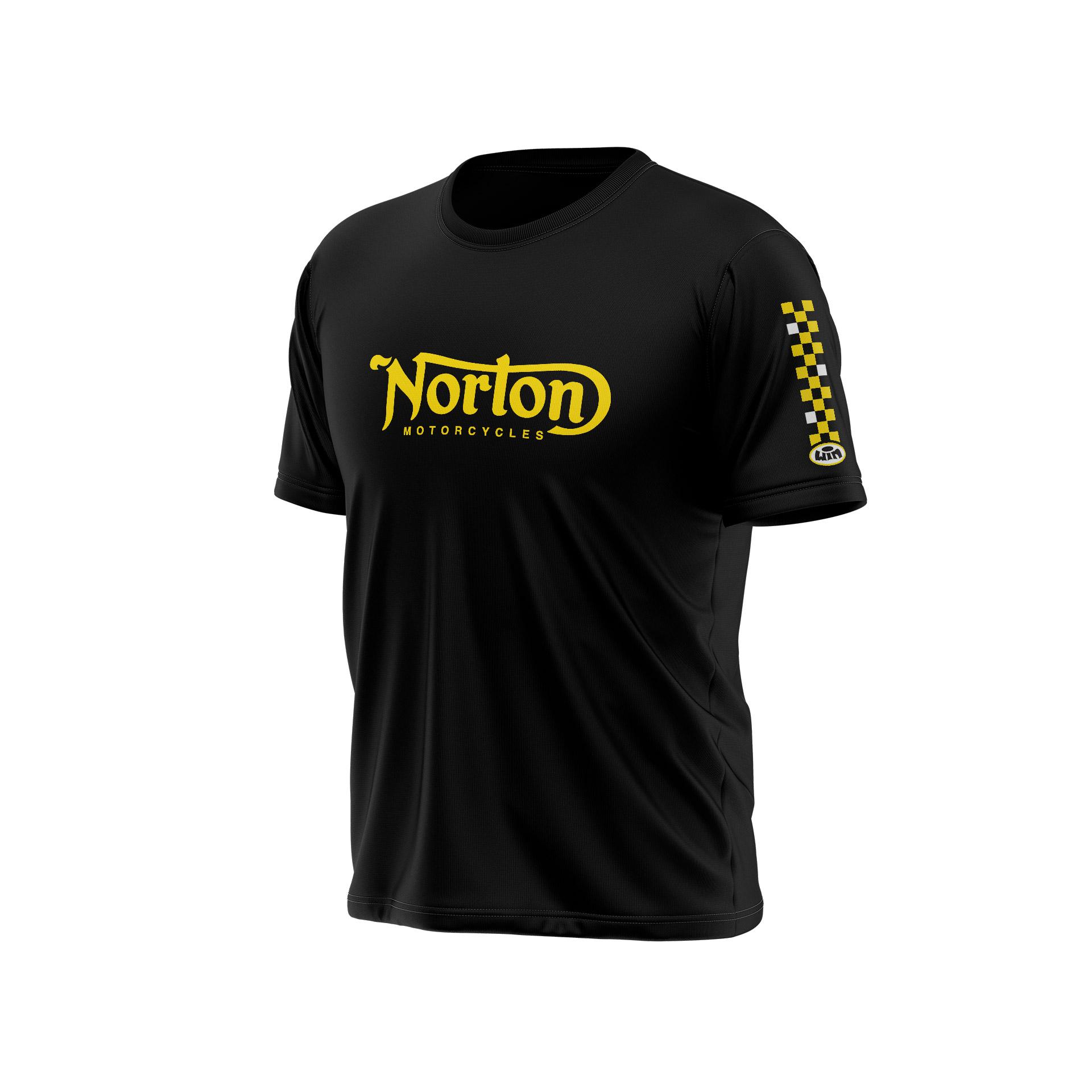 TS Chest NORTON Noir - Jaune