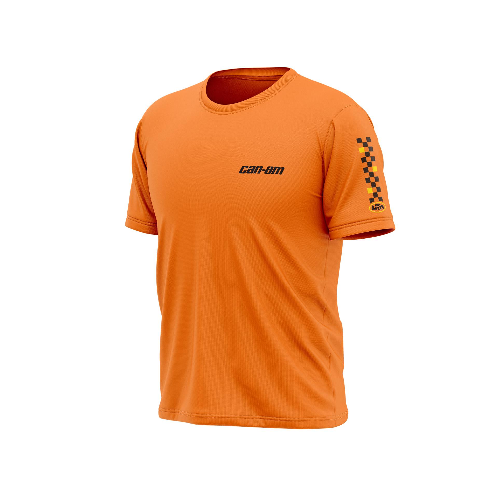 TSD CAN AM Heart Orange - Noir