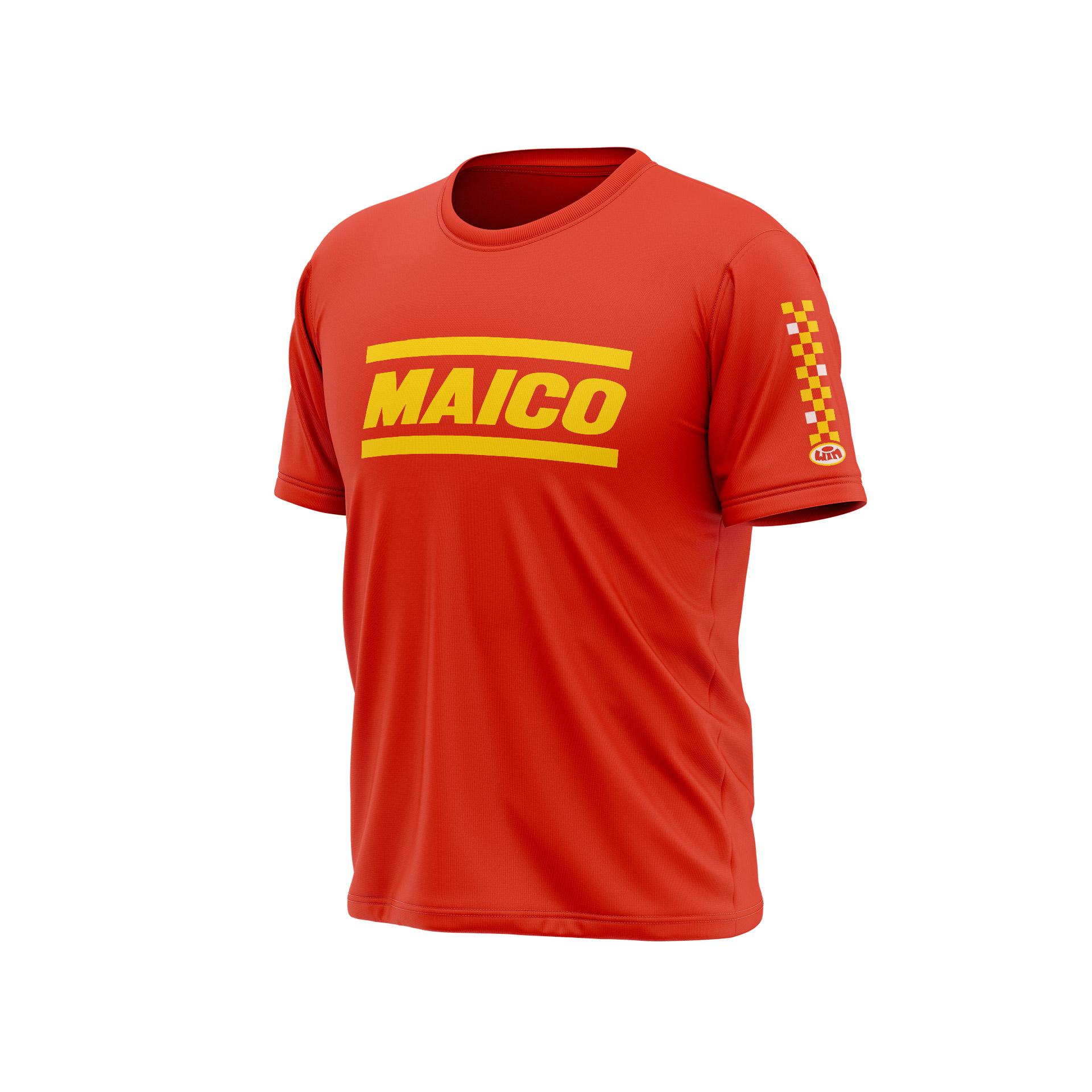 TSD MAICO Rouge - Jaune Blanc