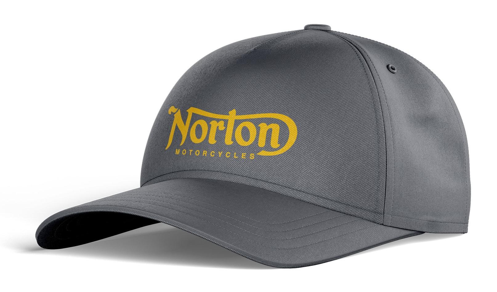 Casquette Coton NORTON Graphite