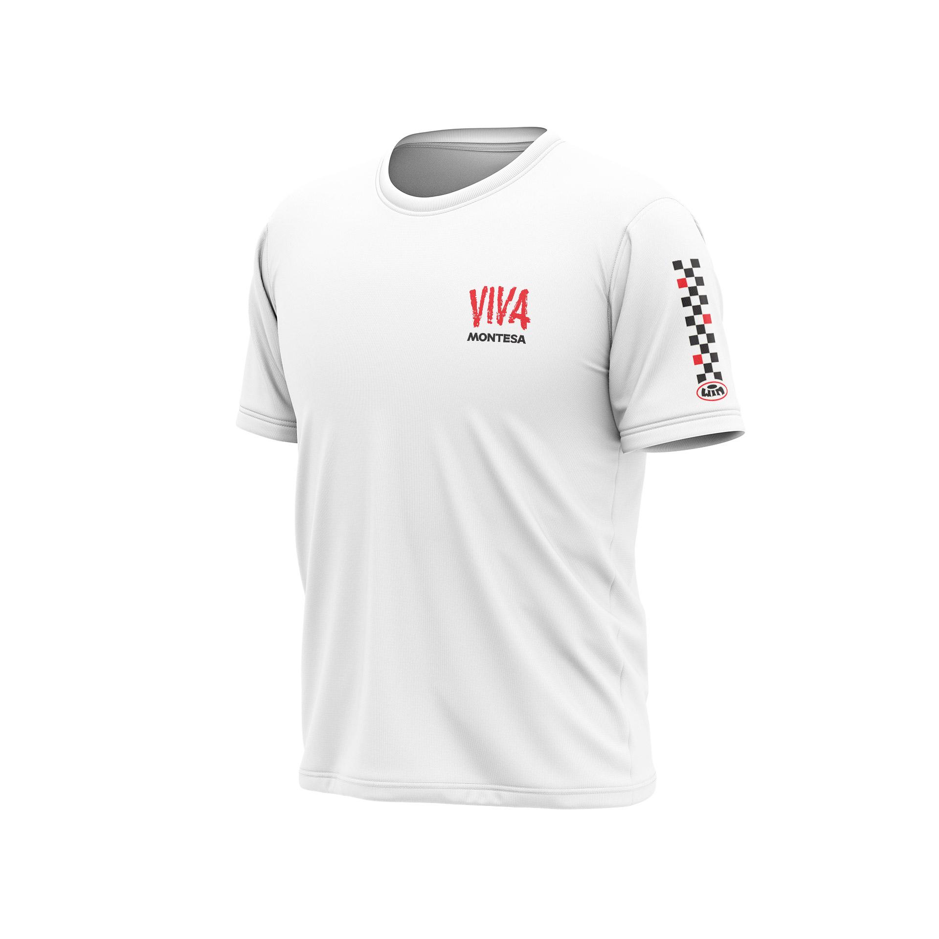 TSD MONTESA Viva Heart Blanc - Noir Rouge