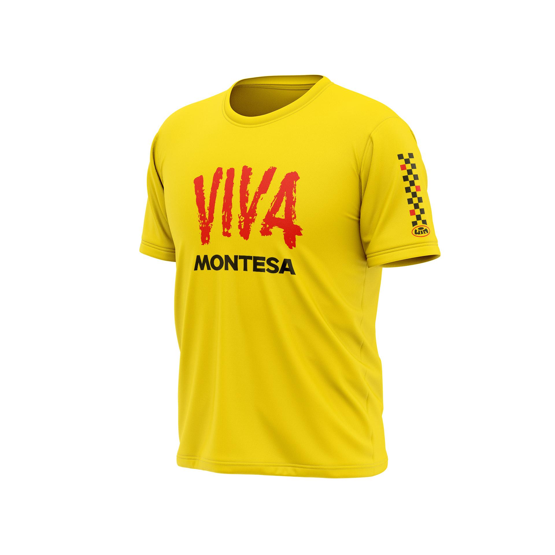 TSD MONTESA Viva Jaune