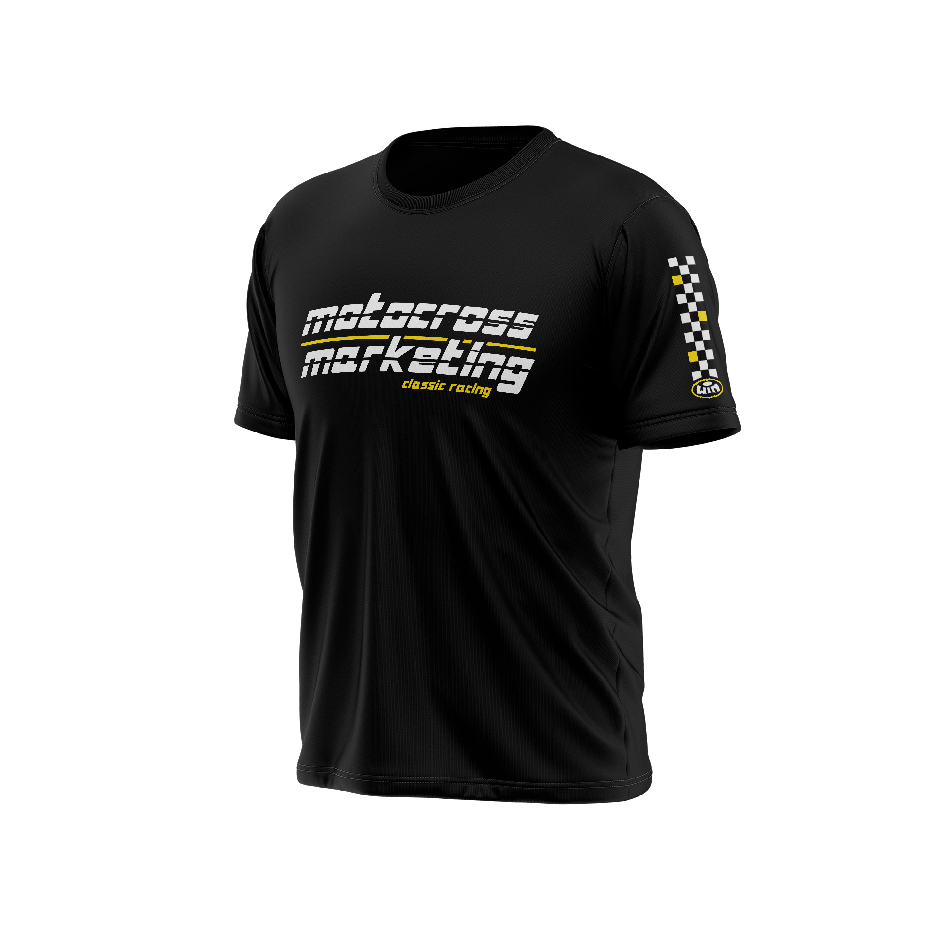 MXM Team Chest Black - White Yellow